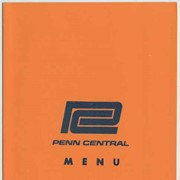 Cover image of Penn Central. Broadway Limited. Dinner.
